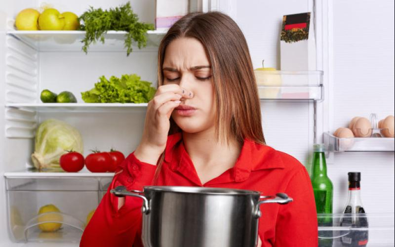 young_brunette_woman_with_displeased_expression_smells_spoiled_soup_stew_pan_feels_musty_smell_home_kitchen_stands_against_refrigerator_176532_4240.jpg